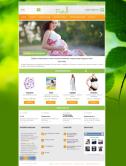 Адаптивный интернет-магазин для будущих мам